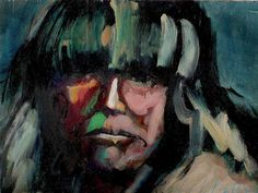 fine oil native american paintings | Native American Painting by Les Leffingwell - Native American Fine Art ...