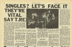 A Marc In Time...November 21st 1970 NME Magazine