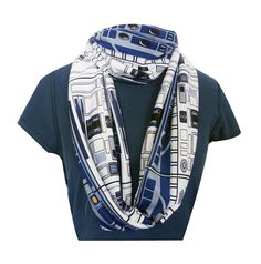 Star Wars R2 Scarf by Rooby Lane