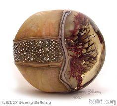 Sherry Bellamy: Lampwork Beads — Daily Art Fixx - Art Blog: Modern Art, Art History, Painting, Illustration, Photography, Sculpture