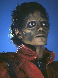 Michael Jackson zombie makeup