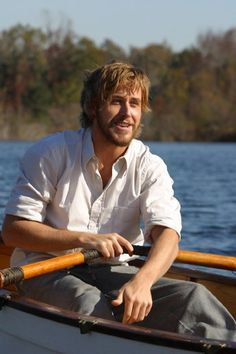 "I realize it's so ""in"" to be in love with Ryan Gosling right now, but just for the record... I had the hots for him since his small part in Murder by Numbers and of course the deal was sealed with The Notebook. (Obviously) Can't believe it has taken this long for him to become part of ""Hot Hollywood"". He's just so YUMMY. #TheNotebook - Noah  Ryan Gosling"