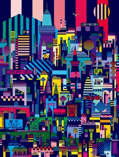 Japanese Illustration: Tokyo Xperia. Hasegawa Shinpei. 2014