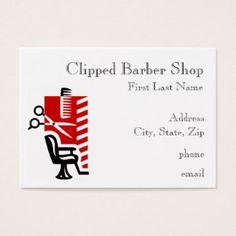 18+ Barber Shop Pole Business Cards and Barber Shop Pole Business Card Templates | Zazzle.com.au