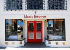 Maiya's Restaurant, 103 Highland Street  Marfa, TX 79843  (432) 729-4410.  Also Future Shark, Cochineal, Squeeze.  Padre's.