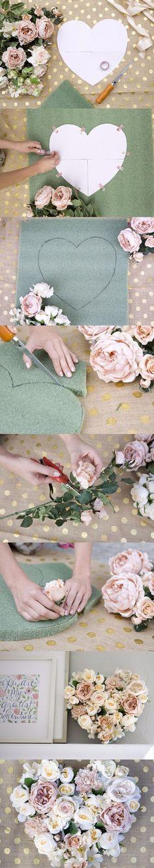 Hazlo tú misma: Corazones decorativos / http://www.100layercake.com/