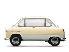 Microcar Zuendapp Janus 1958