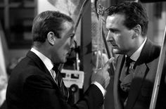 Ian Hendry and Patrick Macnee in Toy Trap from Series 1