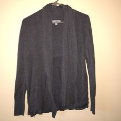 Grey Cozy Cardigan Comfy and cute! Great to wear over a dress or with a casual outfit. Size S, charcoal grey. From Nordstrom. Olivia Sky Sweaters Cardigans