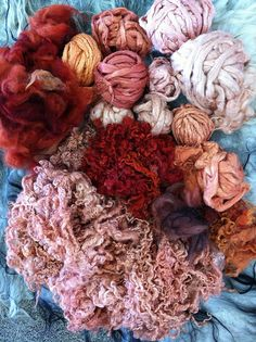 madder, natural dyeing by Irit Dolman.