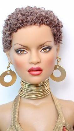 Natural Hair Barbie!