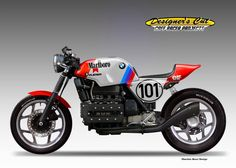 "BMW K100 SUPERCAFE' ""Marlboro"""