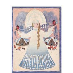 Snegurochka / Snow Maiden Russian Tale. by RussianSoulVintage
