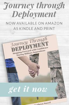 Deployment is an uncertain time filled with many fears. You may wonder how you will get through each day, how you will cope, and what you will do during this time. The fears and worries can be endless. But the journey doesn't have to be intimidating. You too, can learn to step forward with confidence and experience hope, joy, and encouragement in deployment.