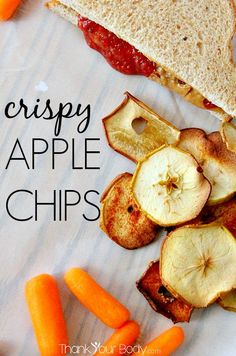crispy apple chips these crispy apple chips are organic easy to make ...