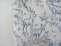 Chalk Paint™ stencilled onto fabric. sparrowandjackinteriors.com.au
