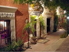 San Jose del Cabo, Mexico. Love this restaurant for lunch and dinner.
