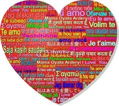 Love World Languages-Vector © bluedarkat