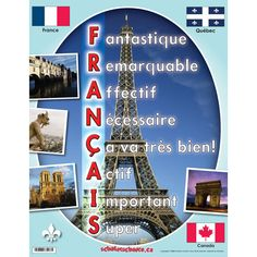 Français spoke here French Teacher, Teaching French, Why Learn French, Classroom Tools, Classroom Ideas, School Store, French Education, Math Manipulatives, Core French