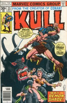 Kull the Conqueror (1971 1st Series) 23