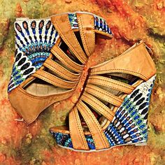 Summer wedges shoes - Shoes and beauty