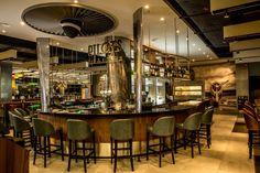 Pilots Bar & Kitchen by o1creative at Heathrow Terminal 5, London – UK » Retail Design Blog
