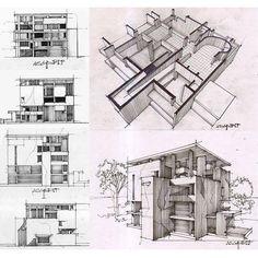 Shodan house by Le Corbusier