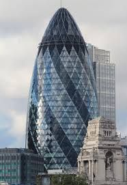 30 St Mary Axe (informally known as the Gherkin and previously as the Swiss Re Building) is a commercial skyscraper in London's primary financial district, the City of London. It was completed in December 2003 and opened in April 2004. #building #london #architecture #architect #normanfoster #architectureprojects #skyscraper