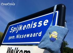 CreaCrola-tasjes, I was here: Spijkenisse!