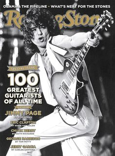Jimmy Page on the cover of Rolling Stone December 08, 2011