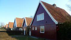 In beginsel waren alle Oostenrijkse woningen gelijk - tegenwoordig zijn vele verbouwd Huisduinen, Den Helder