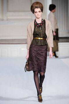 Oscar de la Renta Fall 2009 Ready-to-Wear Fashion Show - Denisa Dvorakova