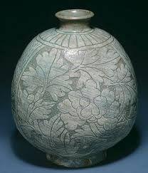 Korean pottery.