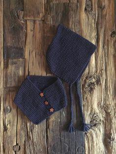 Baby/chil cowl and bonnet set - ensemble cache-cou et bonnet pour bébé/enfant by LesTricotsDeRenelle on Etsy