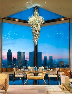 The Ty Warner Penthouse at New York's Four Seasons Hotel.