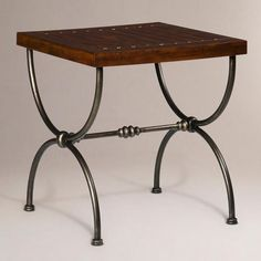 One of my favorite discoveries at WorldMarket.com: Flint End Table