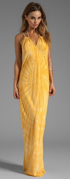 Tie Dye Maxi in Sunset