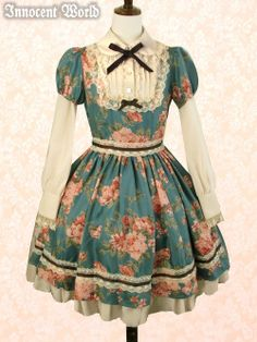 Lolita Dress{ love the colours in this set