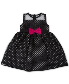 Penelope Mack Baby Girls' Dot Party Dress - Dresses - Kids & Baby - Macy's