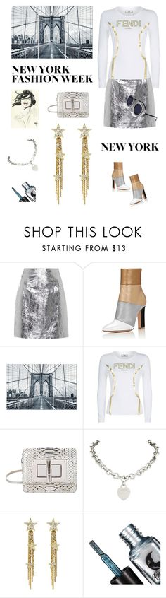 """Big 4"" by rita257 ❤ liked on Polyvore featuring Proenza Schouler, Fendi, Tom Ford and Tiffany & Co."