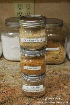 Fish Seasoning w/ Fajita Seasoning