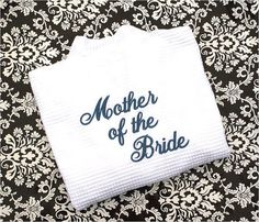 Mother of the Bride OR Mother of the Groom  White by MisterandMrs, $34.95
