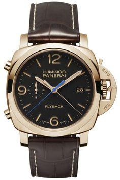 Officine Panerai Luminor 1950 3 Days Chronograph Flyback Oro Rosso Ref. PAM00525.