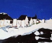 White Road by Sandra Pratt Oil ~ 18 x 24