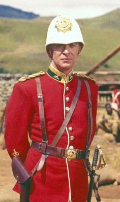 Michael Caine in Zulu. Played the pompous Lt Bromhead to perfection. Bromhead redeems himself as the story unfolds. Caine went on to play this type of upper-crust character on several occasions.
