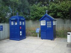 Blue Police telephone boxes. National Telephone Kiosk Collection at Avoncroft Museum of Historic Buildings (avoncroft.org.uk)