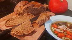 Spiced Pumpkin Bread, perfect for holiday leftovers! Spiced Pumpkin, Pumpkin Bread, Pumpkin Spice, Crackers, Biscuits, German Recipes, Sourdough Bread, Hush Puppies, Bread Rolls
