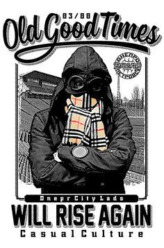 Dnepr Ukraine Football Old School Casual Hooligan Ultra Meteor