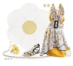"""""""Push Up Daisy"""" by freida-adams ❤ liked on Polyvore featuring Monsoon, Kate Spade, AZ Collection, Marc Jacobs, topsets, topset and polyvorefashion"""