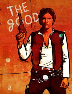 """The Good, The Bad & The Ugly: Star Wars Art Prints"" by Ed Pires"